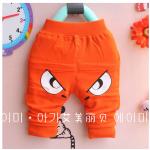 กางเกง สีส้ม แพ็ค 4ชุด ไซส์ 1-3-5-7