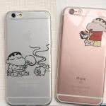 เคส iPhone SE / 5s / 5 ซิลิโคน TPU โปร่งใสสกรีนลายชินจัง ราคาส่ง ขายถูกสุดๆ