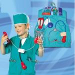 ชุดศัลยแพทย์+อุปกรณ์ตามรูป แพ็ค 3 ชุด ฟรีไซส์ (เหมาะสำหรับ 3-8 ขวบ)