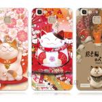 เคส Huawei GR3 ซิลิโคน soft case แบบนิ่ม สกรีนลายแมวกวักนำโชค Lucky Neko ราคาถูก