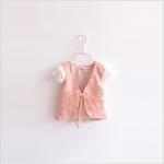เสื้อกั๊ก สีชมพู แพค 5 ชุด ไซส์ 90-100-110-120-130