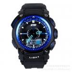 นาฬิกาแฟชั่น skmei 0910 สีดำน้ำเงิน