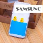 เคส Samsung Galaxy S6 Edge พลาสติกเป็ดน้อยลอยน้ำน่ารักมาก ราคาถูก