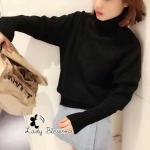 [พร้อมส่ง] เสื้อผ้าแฟชั่นเกาหลี เสื้อไหมพรมคอเต่าเกรดพรีเมี่ยม ผ้าหนานุ่มค่ะ ใครที่กำลังจะไปตปท มองหาเสื้อคอเต่าห้ามพลาดเลยตัวนี้