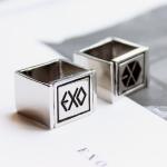 แหวนเงิน EXO XOXO (หมุนได้)