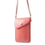 กระเป๋าใส่โทรศัพท์ รุ่น Beige Litchi Grain Leather Pouch