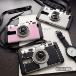 case oppo r7 plus พลาสติก + ซิลิโคน เลียนแบบกล้องถ่ายรูป ราคาถูก (ไม่รวมสายคล้อง)