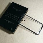 Case Samsung Note 3 นิ่มใสขอบเทา