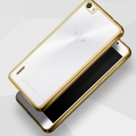 Case Huawei 6 Plus ซิลิโคน TPU โปร่งใสขอบเงางาม ราคาถูก