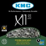 โซ่จักรยาน KMC X11L,11 สปีด ,X11-93