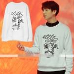 เสื้อแขนยาว (Sweater) แบบ Jungkook