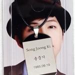 สร้อยคอป้ายแท็ก Song Joongki