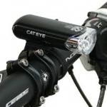 CAT EYE ไฟหน้าแคทอายรุ่น HL-EL135N, สีดำ หรือ สีขาว