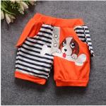 กางเกง สีส้ม แพ็ค 4ชุด ไซส์ S-M-L-XL