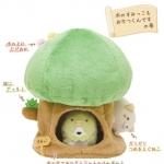 """บ้านต้นไม้เพนกวิ้นซูมิกโกะ San-X Sumikko Gurashi """"Things in the Corner"""" 7"""" Tree House Plush Set: Park Adventure"""