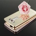 เคส LG G4 รุ่น Aluminium Hybrid Mirror Back (เคสฝาหลังเงา)