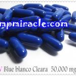 กลูต้าซอฟท์เจลบลู บรานซ์โก้ เคลียร่า Gluta Softgel Blue blanco cleara  50,000 mg.