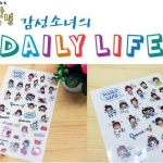 Daily Life Sticker Set
