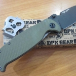 DPx Gear H.E.S.T.2.0 OD G10 Handle Left Hand