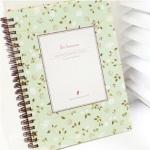 Flor Hermosa Notebook (Natural Mint)