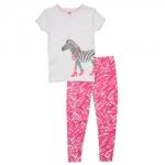 PJA047 เสื้อผ้าเด็ก ชุดลำลอง ม้าลาย แนวสปอร์ต baby Gap Made in Malasia งานส่งออก USA เหลือ Size 95