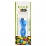 Golf สายชาร์จ Micro USB (Golf Micro USB Charging Cable) สีฟ้า