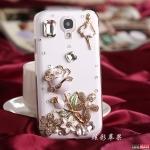 เคส Samsung S4 เคสดอกกุหลาบติดเพชรคริสตัลสวยๆ น่ารักๆ หรูๆ