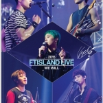[DVD] FTISLAND - 2015 We Will Live DVD (Limited Edition)