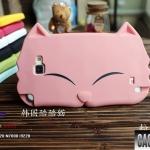 เคส Note 1 Case Samsung Galaxy Note 1 i9220 น้องแมวตาหยี ซิลิโคน TPU 3D น่ารักๆ