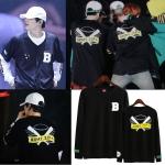 เสื้อแขนยาว (Sweater) ลายไม้เบสบอล BTS - ARMY.ZIP