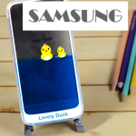 เคส Samsung Galaxy Note 3 พลาสติกเป็ดน้อยลอยน้ำน่ารักมาก ราคาถูก
