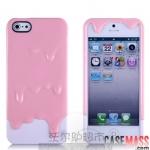 case iphone 5 เคสไอโฟน5 SwitchEasy Melt Ice Cream เคสซิลิโคน TPU ทรงไอติมเยิ้มๆ สวมประกอบ 2 ชิ้น สวยๆ น่ารักๆ แนวๆ