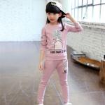 เสื้อ+กางเกง สีชมพู แพ็ค 5 ชุด ไซส์ 110-120-130-140-150