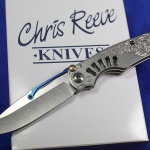 Chris Reeve Knives Ti-Lock - Blue Steam