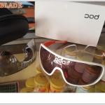 แว่นตา POC Do blade ,POC001 พร้อมเลนส์เสริม 2 อัน พร้อม Clip on