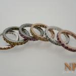 แหวนเงินแฟนซี(Silver ring fancy gems)