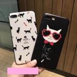 Case iPhone 6 Plus / 6s Plus (5.5 นิ้ว) พลาสติกสกรีนลายแมวน้อยแสนน่ารัก น่าใช้ ราคาถูก