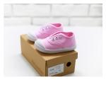 รองเท้าแคนวาสเด็ก สีชมพู แพ็ค 4 คู่ [size 23-24-26-30]