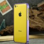 case iphone 5c เคสไอโฟน5c bumper aluminum alloy ขอบเคสบั๊มเปอร์โลหะอลูมิเนียมอัลลอยน้ำหนักเบา บางเพียง 0.7mm สวยเรียบหรู