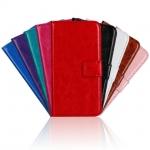 เคส LG Leon แบบพับหนังเทียมสีสันสดใส สีพาสเทล สีเข้มขรึม ราคาถูก