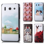 Portrait painting drawing case back cover for Huawei G510 Dtac trinet phone cheetah