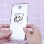 เคส Samsung J5 Prime เคสซิลิโคนใส เคสนิ่ม ประดับแหวนจับมือถือ เบอร์เกอร์ แก้วมังกร กีวี ส้ม แมว ดอกไม้ น่ารักๆ TPU Silicone Case Ring Holder