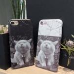 Case iPhone 7 Plus (5.5 นิ้ว) พลาสติกสกรีนลายแมวน้อยแสนน่ารัก น่าใช้ ราคาถูก