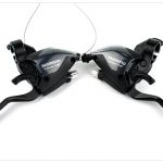 มือเกียร์ติดมือเบรค Shimano ,ST-EF51-A9R ,27สปีด V-Brake
