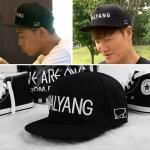 หมวก running man - HALYANG (สีดำ)