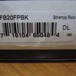 Spyderco Schempp Rock FB20FPBK
