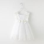 ชุดกระโปรง สีขาว แพ็ค 5ชุด ไซส์ 100-110-120-130-140