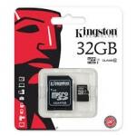เมมโมรี่ การ์ด Kingston Memory Micro SD Card Class 10 - 32GB