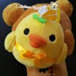 ตุ๊กตา ไก่คิอิโระอิโทริ เค้กส้ม Japan Kiiroitori orange mandarin Dessert Cake ( #D )
