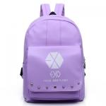 กระเป๋า EXO LOGO สีม่วง